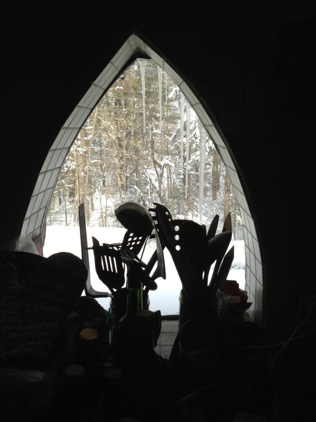 Stove window