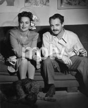 Olivia DeHaviland with Tom Kelley