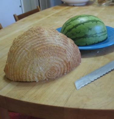 Boule brodform half melon