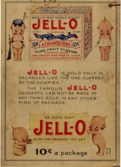 Genessee Jello Co 10 cents